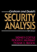 Graham and Dodd's Security Analysis (5TH 88 Edition)