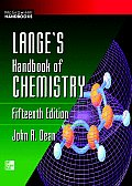 Langes Handbook of Chemistry 15TH Edition