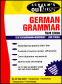 Schaums Outline Of German Grammar 3rd Edition