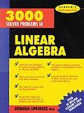 3000 Solved Problems In Linear Algebra