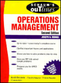Schaums Operations Management 2nd Edition