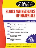 Schaum's Outline of Statics and Mechanics of Materials (Schaum's Outlines) Cover