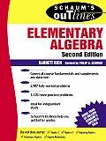 Elementary Algebra 2nd Edition Schaums Outline
