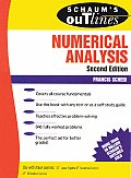 Schaum's Outline of Numerical Analysis (Schaum's Outlines) Cover