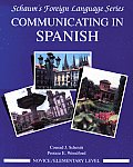 Communicating in Spanish (Novice Level) (Schaum's Foreign Language) Cover