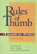 Rules Of Thumb Guide For Writers 3rd Edition