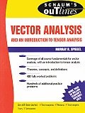 Schaum's Outline of Vector Analysis Cover