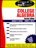 College Algebra 2nd Edition Schaums Outlines