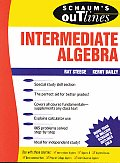 Shaum's Outlines Intermediate Algebra (Schaum's Outlines) Cover