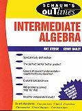Intermediate Algebra Schaums Outline of Theory & Problems