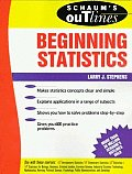 Schaums Outline Of Theory & Problems Of Beginning Statistics