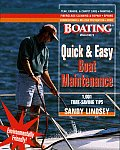 Quick & Easy Boat Maintenance 1001 Time Saving Tips