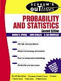 Schaums Outline of Probability & Statistics 2nd Edition