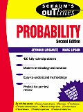 Schaum's Outline of Probability (2ND 00 - Old Edition) Cover