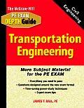 Transportation Engineering (Exam Study Guides)
