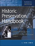 Historic Preservation Handbook Cover