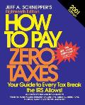 How to Pay Zero Taxes 2001 (How to Pay Zero Taxes)