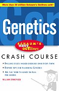 Schaum's Easy Outline of Genetics (Schaum's Easy Outlines) Cover