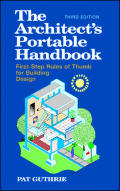 Architects Portable Handbook : First Step Rules of Thumb for Building Design (3RD 03 - Old Edition)