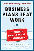 Business Plans That Work Guide Small Busine