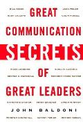 Great Communication Secrets of Great Leaders Cover