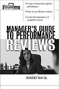 Manager's Guide to Performance Reviews (Briefcase Books) Cover