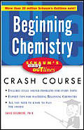 Schaum's Easy Outline Beginning Chemistry (Schaum's Easy Outlines) Cover