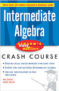 Schaum's Easy Outline Intermediate Algebra (Schaum's Easy Outlines) Cover