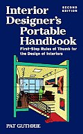Interior Designers Portable Handbook 2nd Edition First Step Rules of Thumb for Interior Architecture