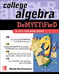 College Algebra Demystified (Demystified) Cover