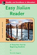 Easy Italian Reader A Three Part Text for Beginning Students