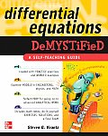 Differential Equations Demystified (Demystified) Cover