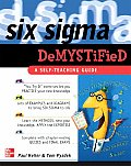 Six Sigma Demystified A Self Teaching Guide 1st Edition