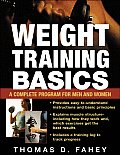 Weight Training Basic (05 Edition) Cover