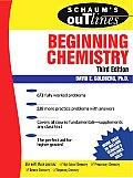 Beginning Chemistry (3RD 05 - Old Edition)