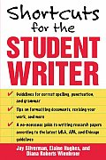 Shortcuts for the Student Writer Cover
