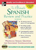 The Ultimate Spanish Review &amp; Practice, CD Edition Cover
