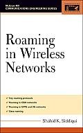 Roaming in Wireless Networks