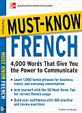 Must Know French 4000 Words That Give You the Power to Communicate