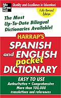 Harrap's Spanish and English Pocket Dictionary Cover