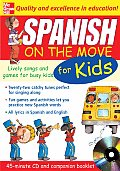 Spanish on the Move for Kids with Booklet
