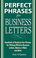 Perfect Phrases for Business Letters (Perfect Phrases) Cover