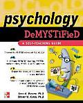 Psychology Demystified (Demystified) Cover