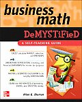 Business Math Demystified (06 Edition)