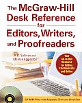 McGraw Hill Desk Reference for Editors Writers & Proofreaders With CDROM