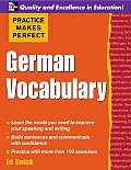 Practice Makes Perfect German Vocabulary 1st Edition