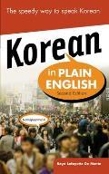 Korean In Plain English 2nd Edition