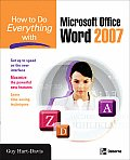How to Do Everything with Microsoft Office Word