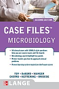 Case Files: Microbiology (Lange Case Files) Cover