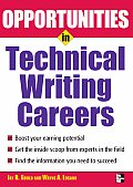 Opportunites in Technical Writing (Opportunities in ...) Cover